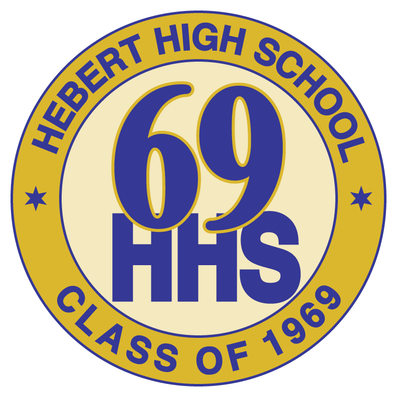 Hebert High School Class of 1969 Logo